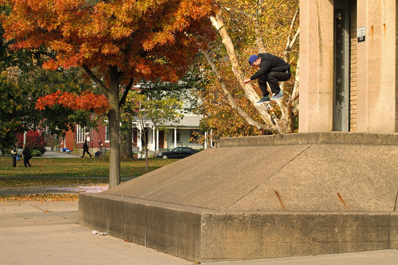 Matt Nordness, 360 Flip in