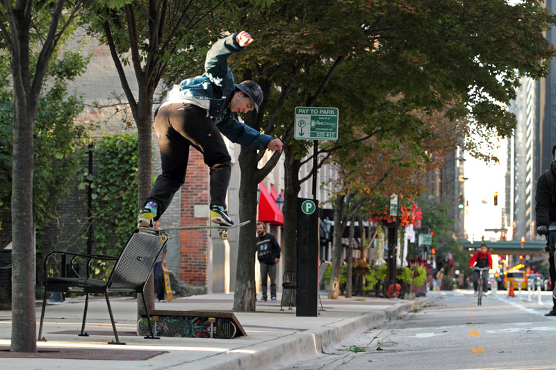 Matt Nordness, Bs tailslide