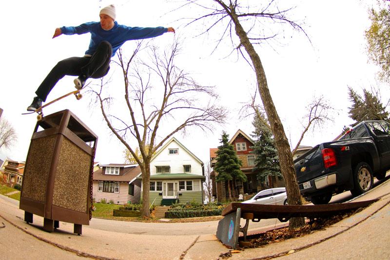 Matt Nordness, Bs Nosegrind 180