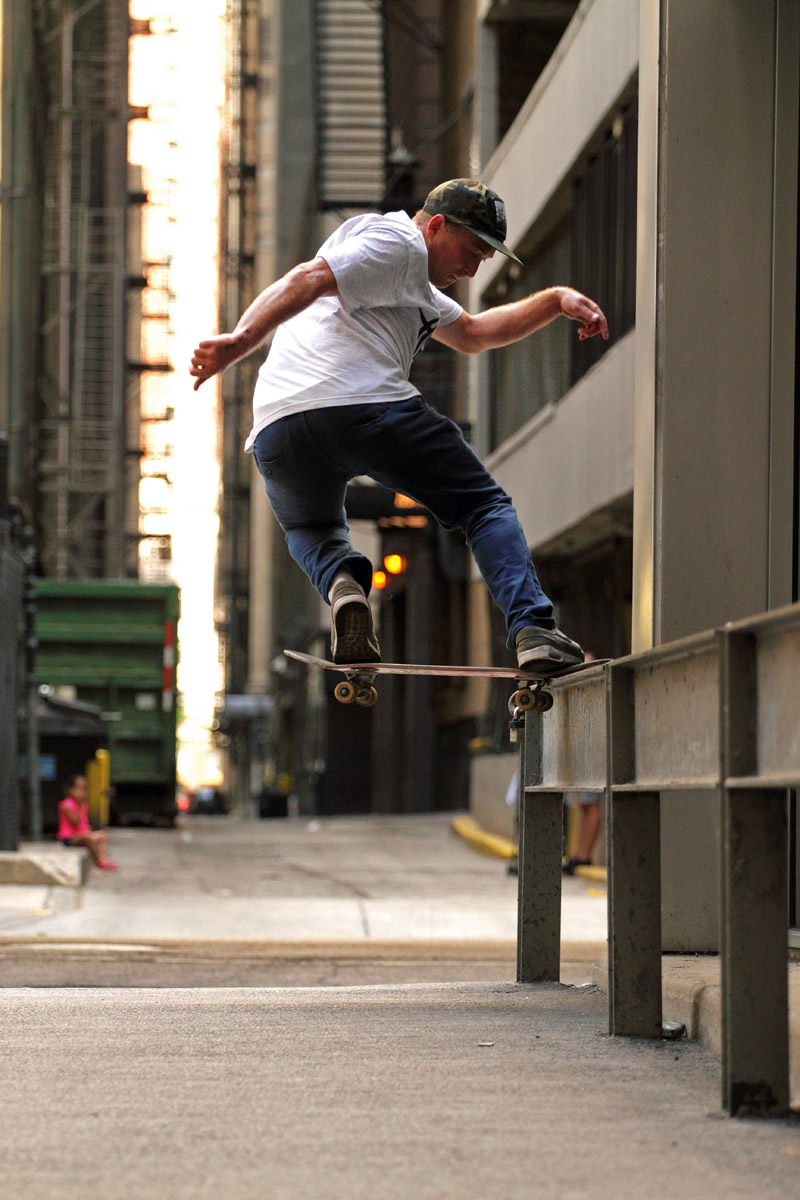 Drew Rickaby, Fs Nose Slide