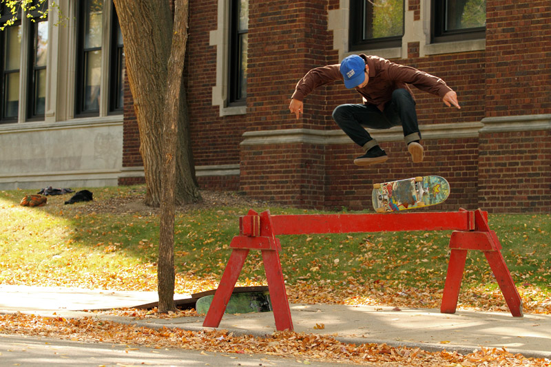 James Brickner, Heelflip