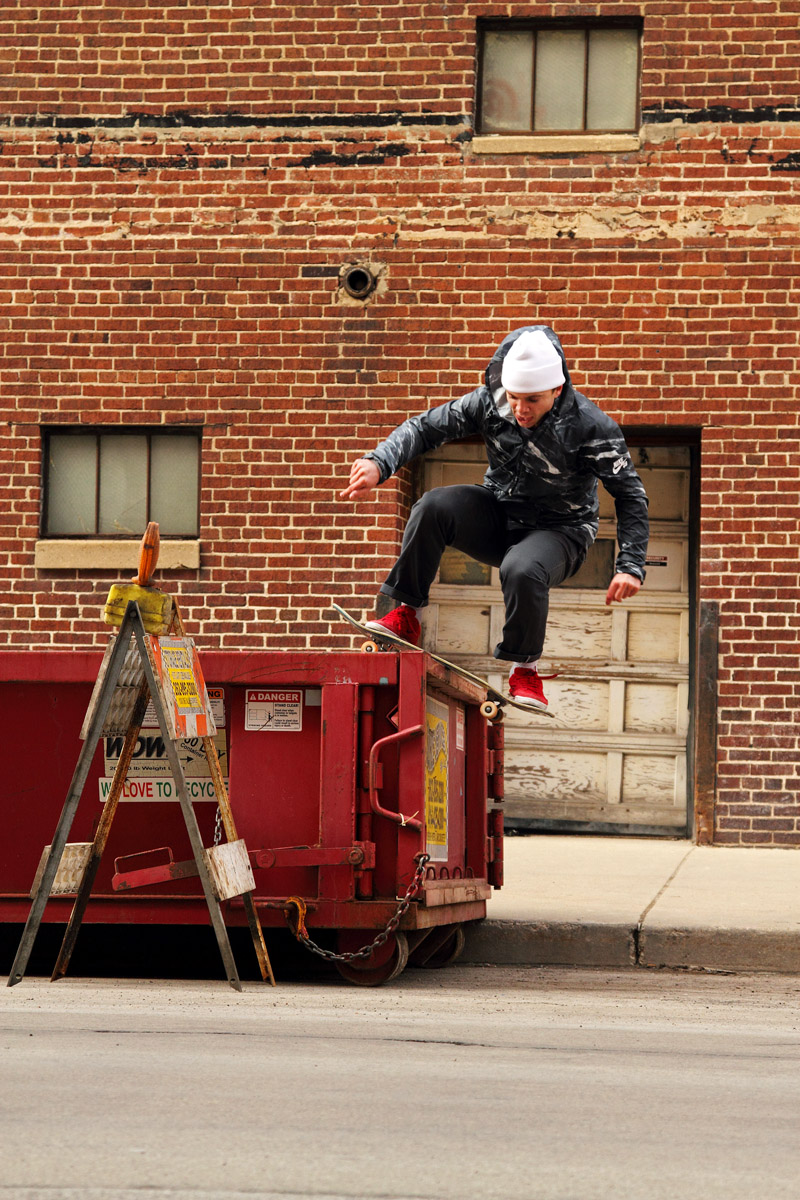 Matt Nordness, Boardslide