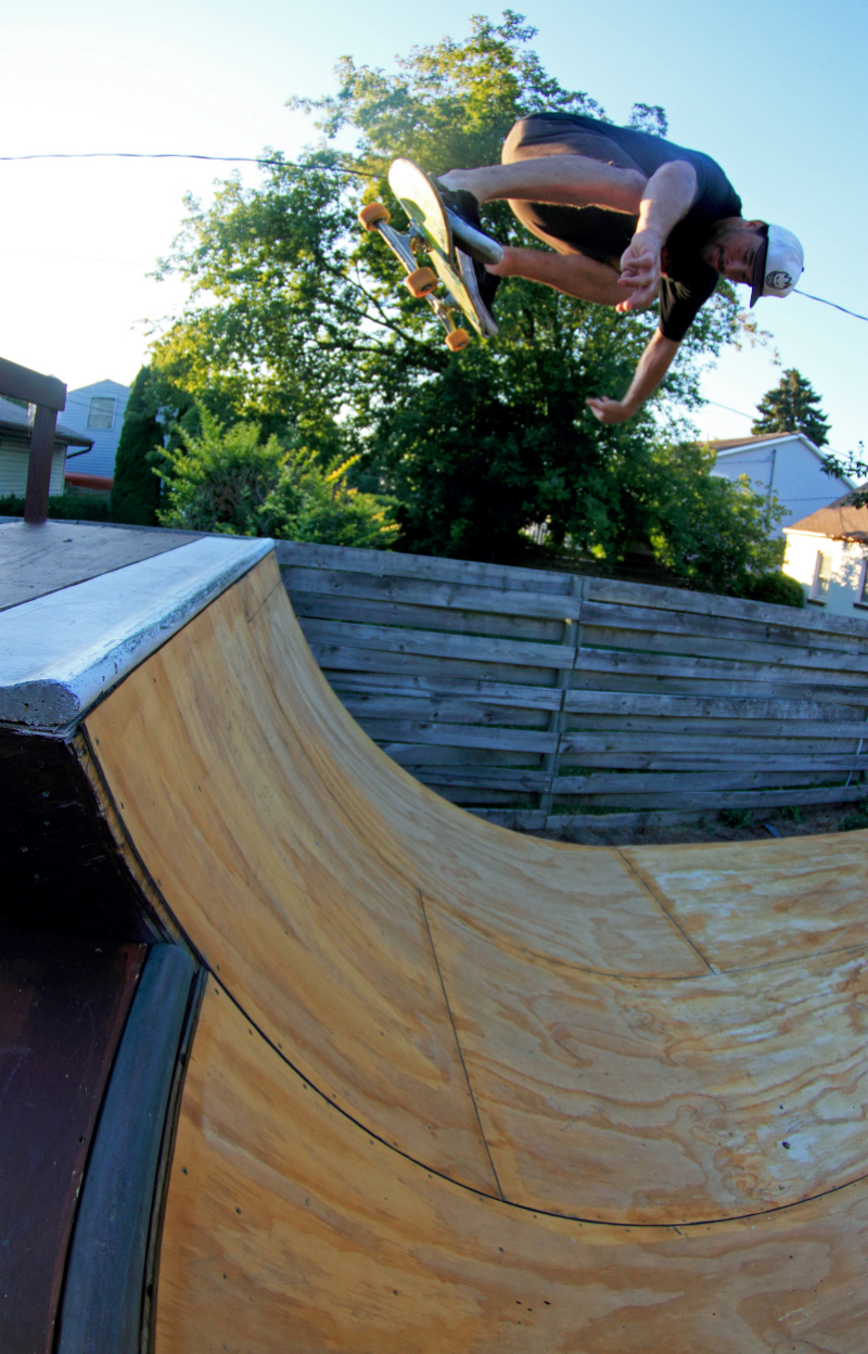 Danny Stemper, Backyard Bs Air