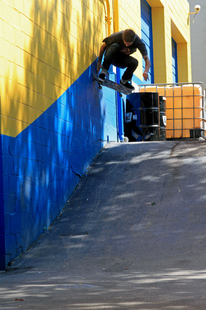 Pat Murphy, Wallride Nollie Pop