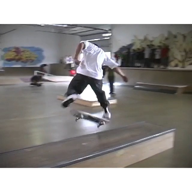 @girlskateboards demo @creamcity 2008.  Brandon Biebel, Mike Carroll, Brad Staba, and Rick McCrank.  I have another full tape of this demo somewhere that I never captured 😞 #wiskate