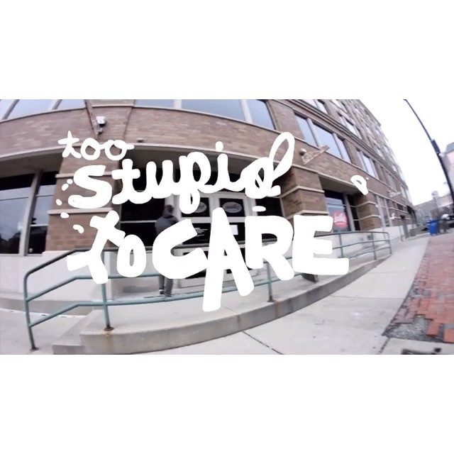 Too Stupid to Care - coming soon!  Full parts from Matt Nordness, Nick Mistele, and Max Murphy.  Tons of other cool humans are also included in this adventure!! 📼 @naughtiernordy @sleepymistele @hankstagramofficial #wiskate #milwaukeeskateboarding #toostupidtocare