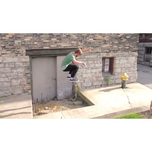 @naughtiernordy vs Baba gap, 2010.  #wiskate #milwaukeeskateboarding