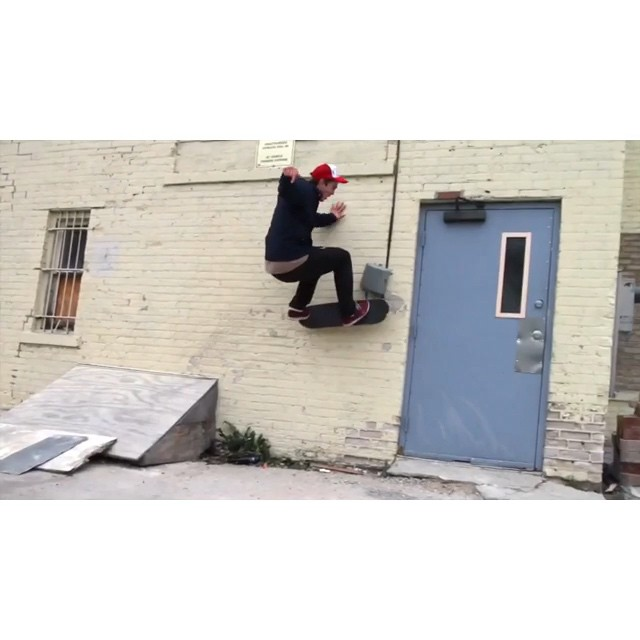 @naughtiernordy w/ some horny moves from years gone by.  2010-2012.  #wiskate #milwaukeeskateboarding #bman
