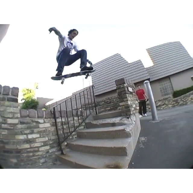 Head on over to wiskate.com to check the new From the Depths, filmed June 2001, edited and released today.  Here's @btvance with a line too long to fit on insta with @bunchkowski guest appearance.  #wiskate #milwaukeeskateboarding