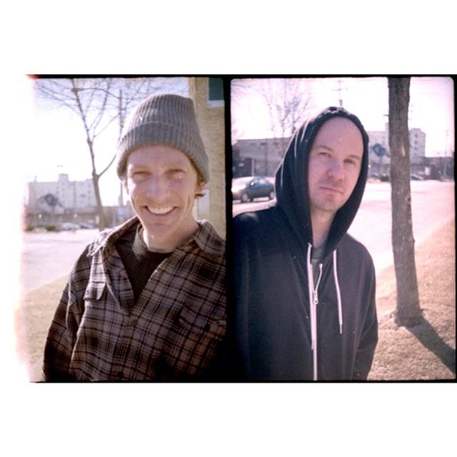 Half frame side by side friends forever.  @creamcity @awaywardpiz