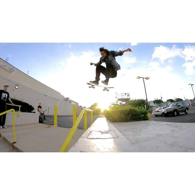 Here's a couple of my favorite things I've filmed with Bman from the last few years.  I thought I was going to eat shit insane filming the line.  I'm too sensitive to be going that fast on a skateboard.  I love how after the kickflip he avoids risser's loving embrace.  All hail Bman!! @naughtiernordy #wiskate #milwaukeeskateboarding #bman @bman