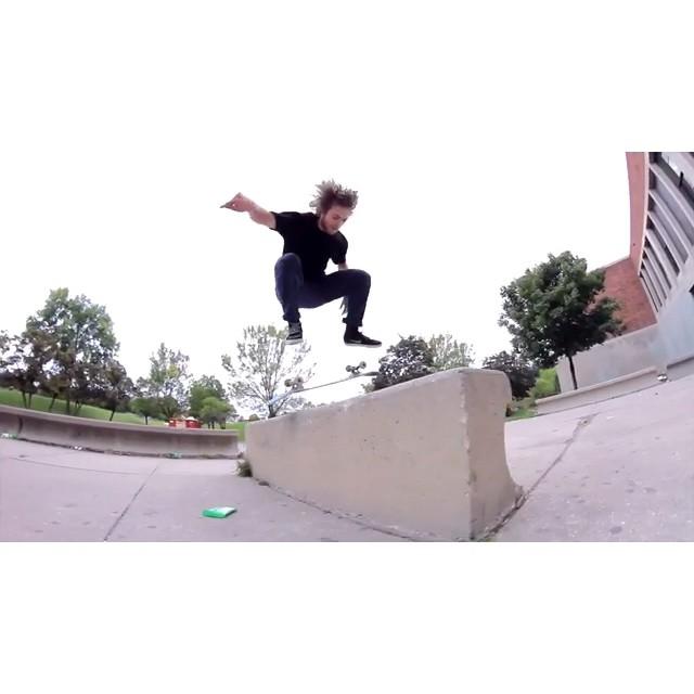 Bman❤️️Riverside, 2012.  @naughtiernordy #wiskate #milwaukeeskateboarding