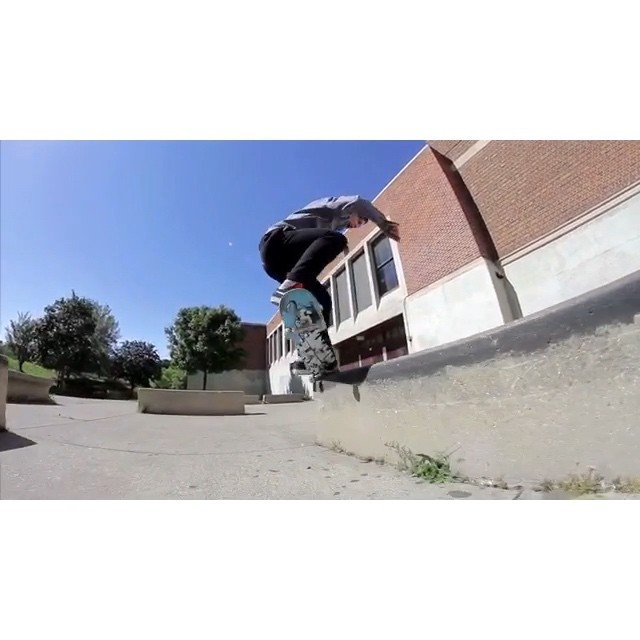 The thighs of Bman never rest.  Here's an exceptionally horny Riverside line from a few years ago.  @naughtiernordy #wiskate #milwaukeeskateboarding #bman #thighmaster